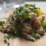 Low Carb Couscous-Salat