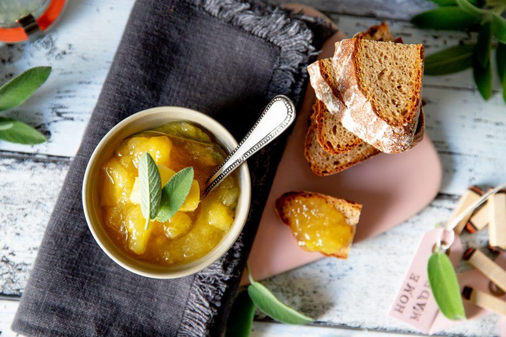 Ananas-Salbei-Marmelade