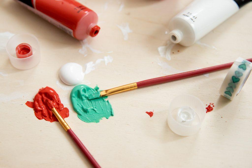 Weihnachtsdekoration DIY Candy Cane