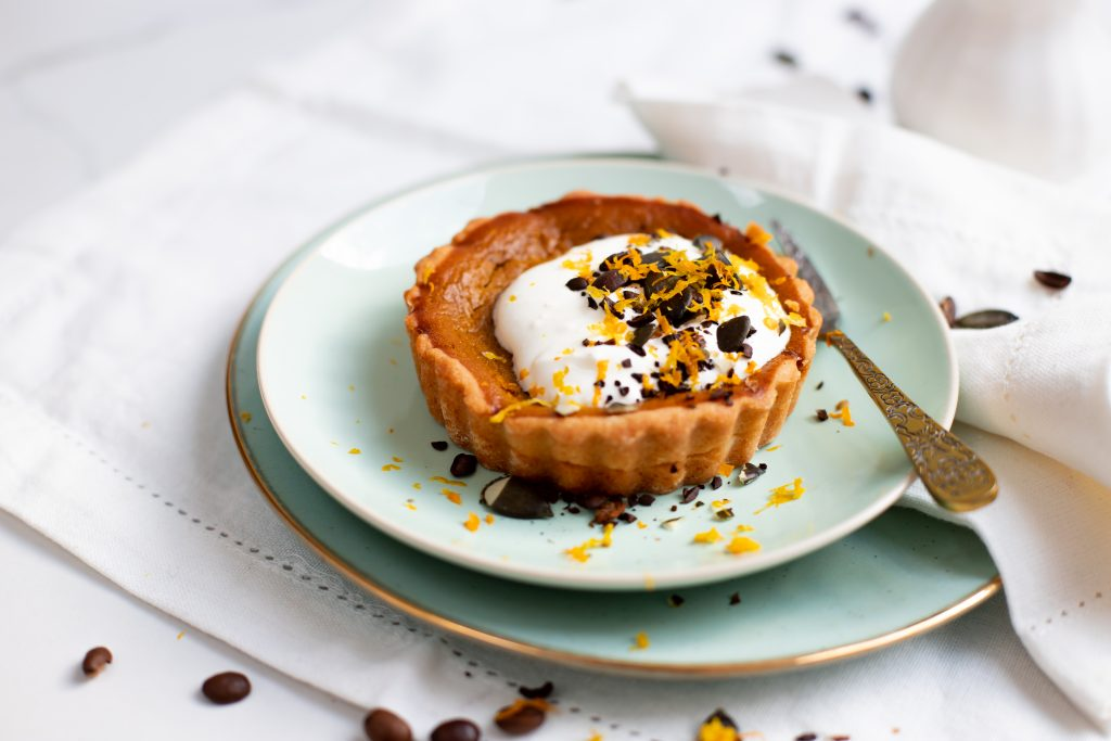 PSL Pumpkin Spice Latte Tarte