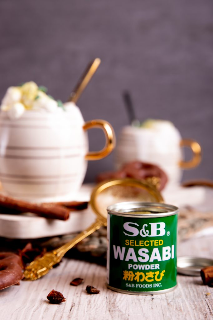 Wasabi Hot Chocolate
