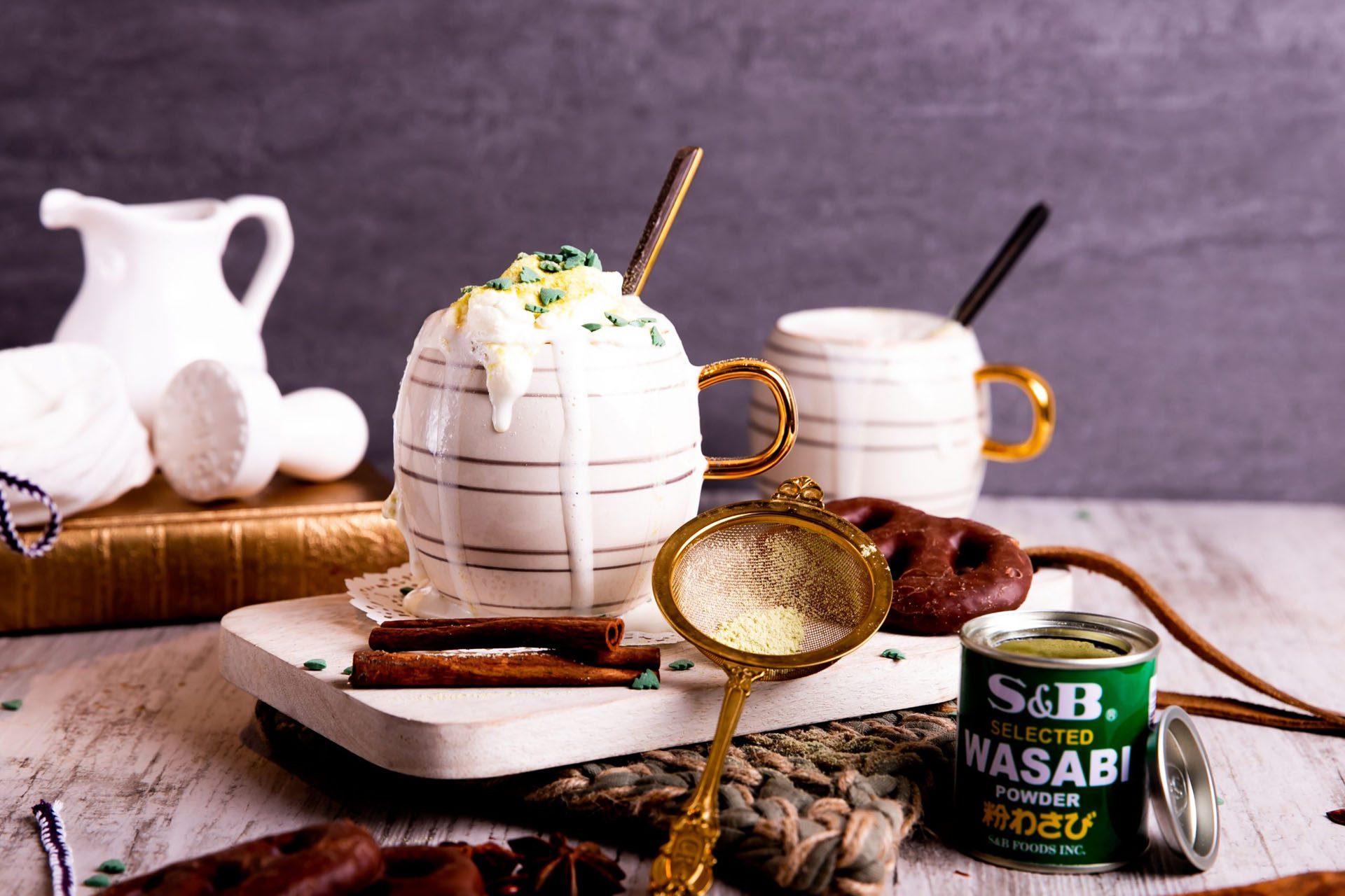Wasabi Hot Chocolate