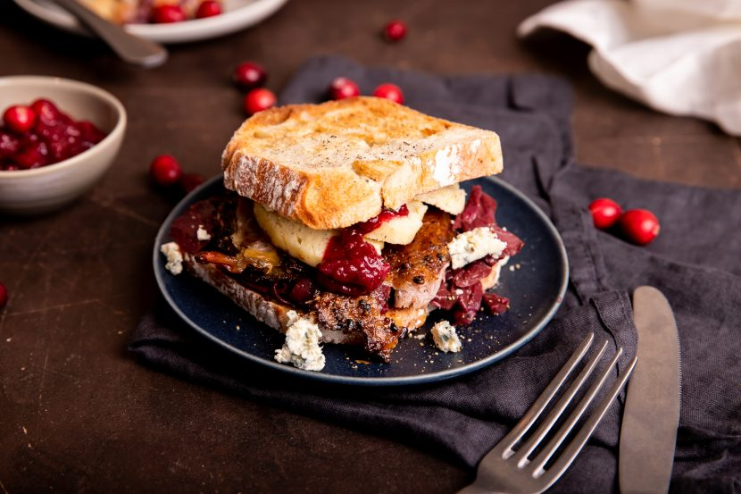Sandwich Holiday Leftover Makeover