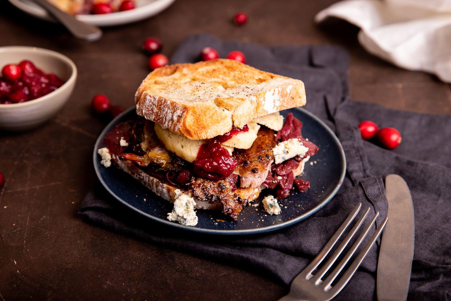 Sandwich Holiday Leftover Makeover