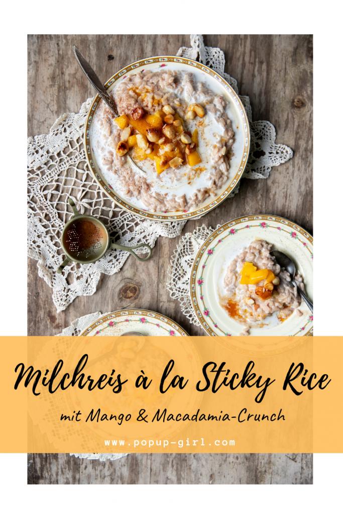 Milchreis Sticky Rice
