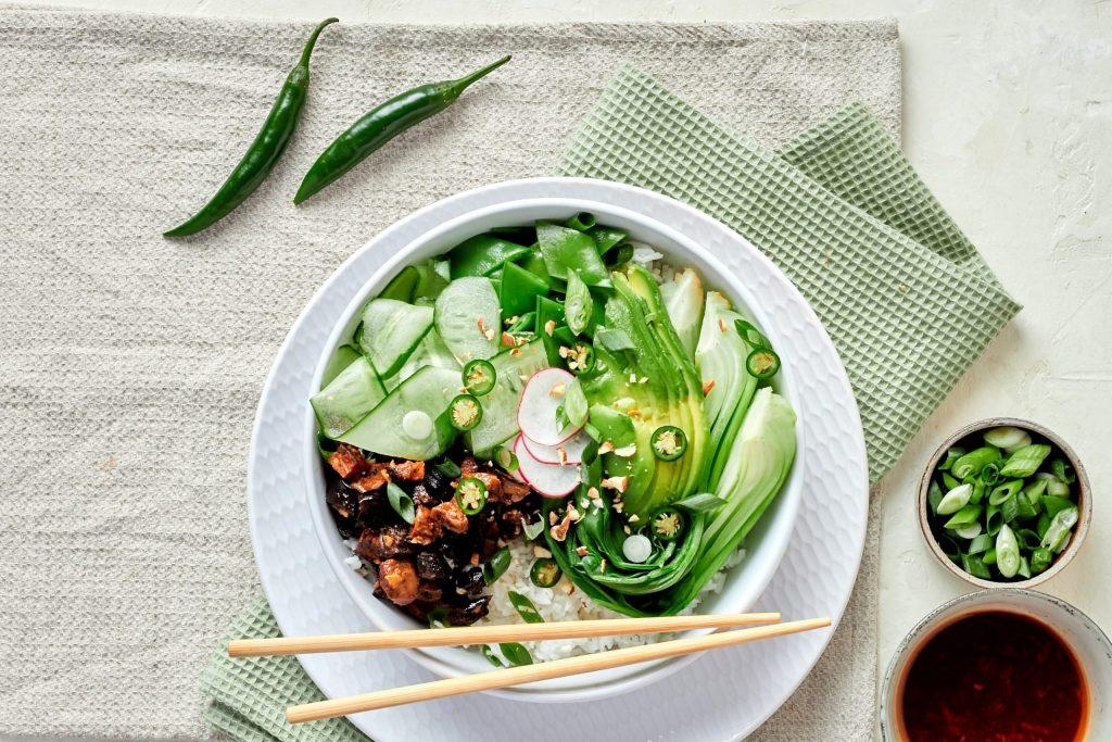 vegan poke bowl vegane poke bowl